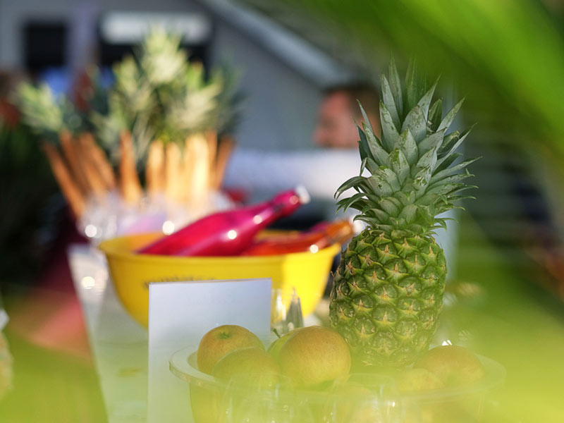 fruits smoothie portes ouvertes inauguration entreprise lancement produits
