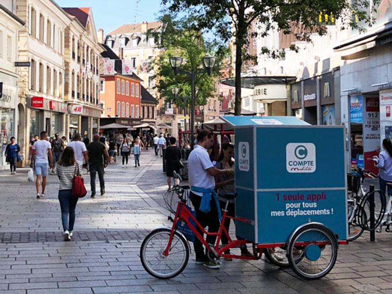 idée de street marketing originale